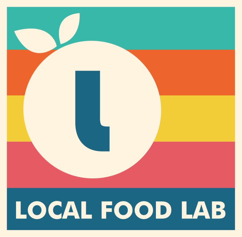Local Food Lab sticker design